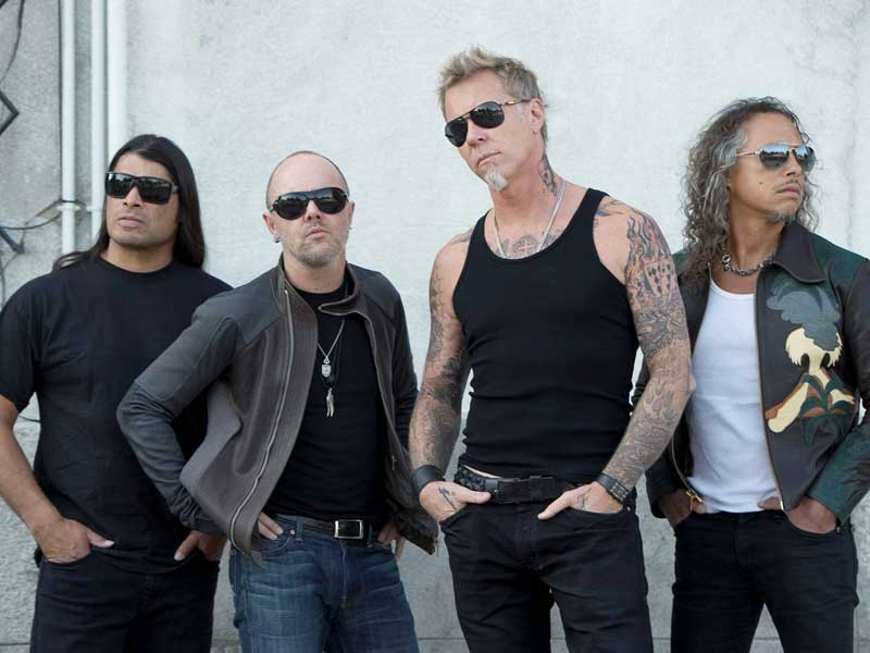 Check out new Metallica track