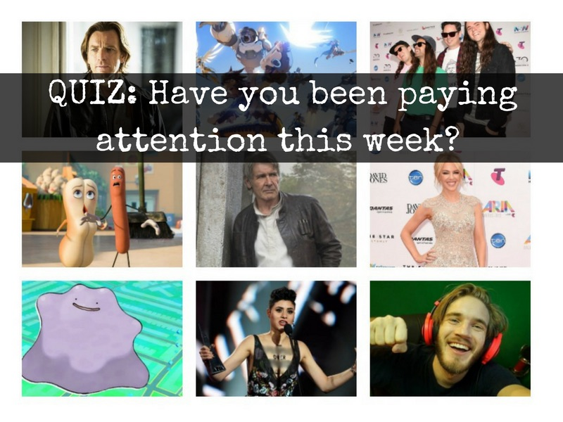 QUIZ: Have you been paying attention this week? 25/11