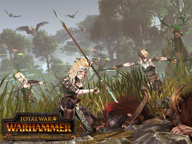 Wood Elves Coming To Total War: Warhammer