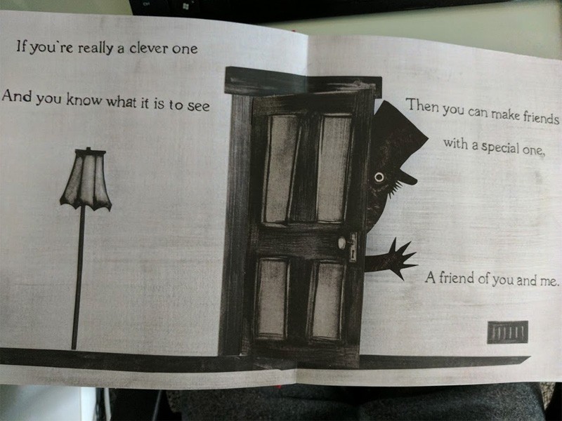 Peek Inside This Babadook Pop Up Book Stack Jb Hi Fi