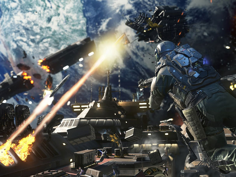 Here's how much room Infinite Warfare will take up