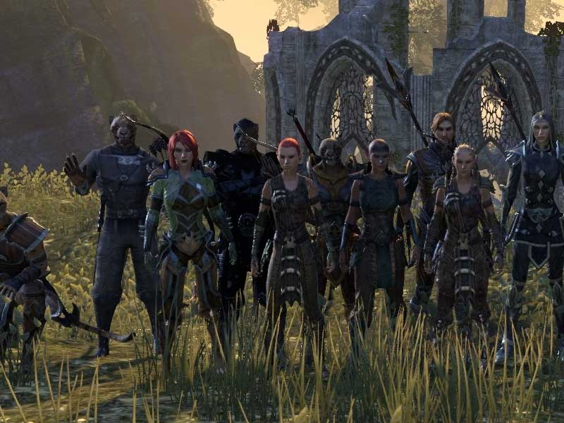 WATCH: check out the Elder Scrolls Online running in 4K on a PS4 Pro