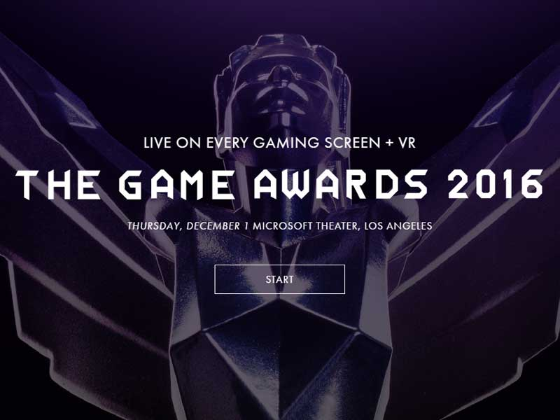Everything you missed at the 2016 Game Awards