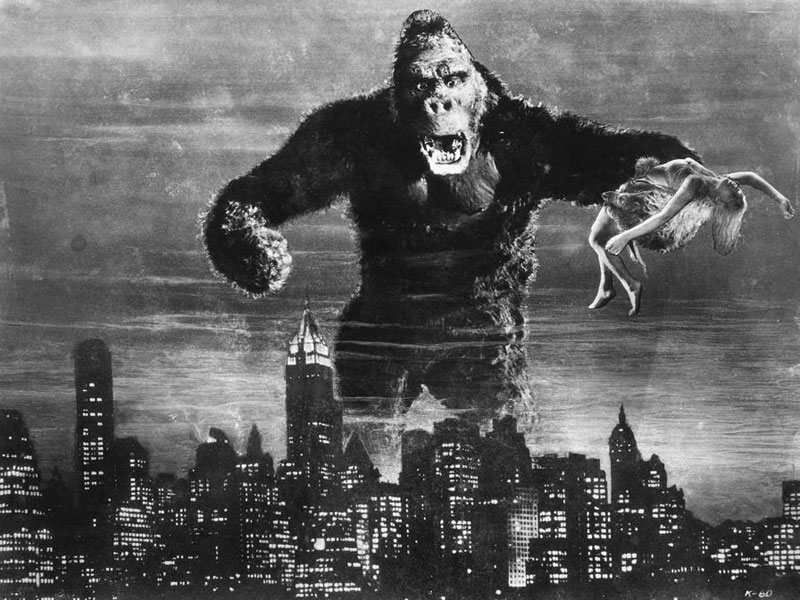 Five Towering 1933 King Kong Collectables