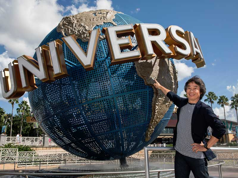 Universal teaming up with Nintendo for some theme park goodness
