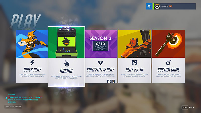 Overwatch's server browser is now live