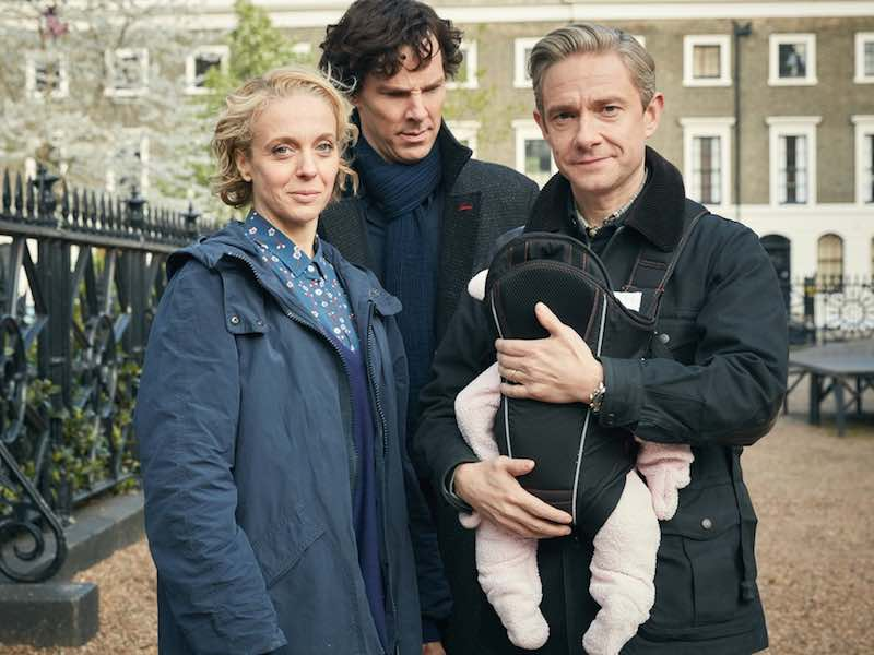 First pictures from new Sherlock
