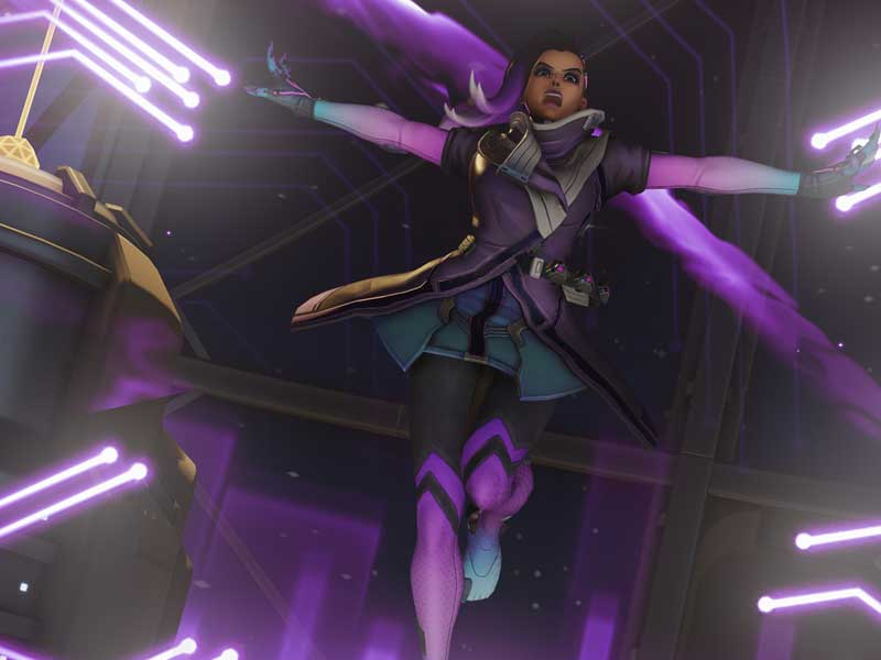 ICYMI: here's Sombra's reveal short, Infiltration