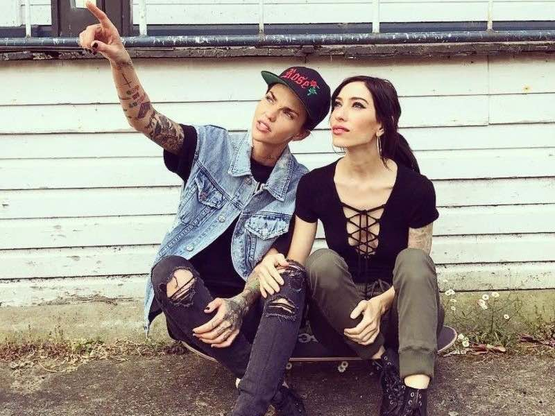Check out Ruby Rose's steamy new clip for The Veronicas