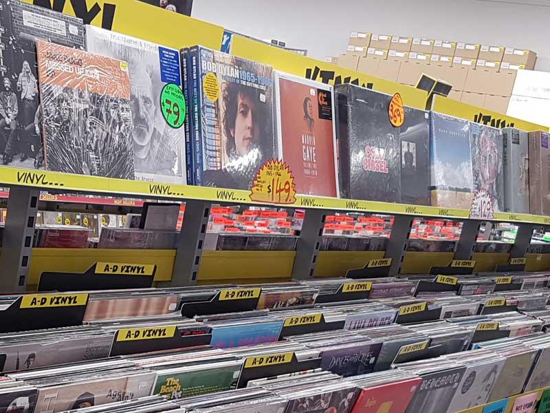 Vinyl music sales trump digital in UK
