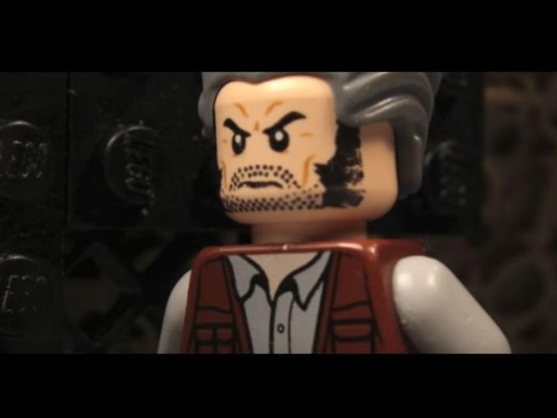 WATCH: Logan trailer recreated in LEGO