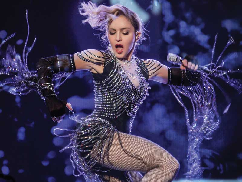 Check out new Madonna concert film