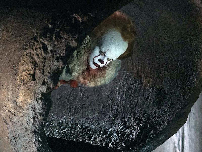 Pennywise's latest look revealed for remake of Stephen King's IT
