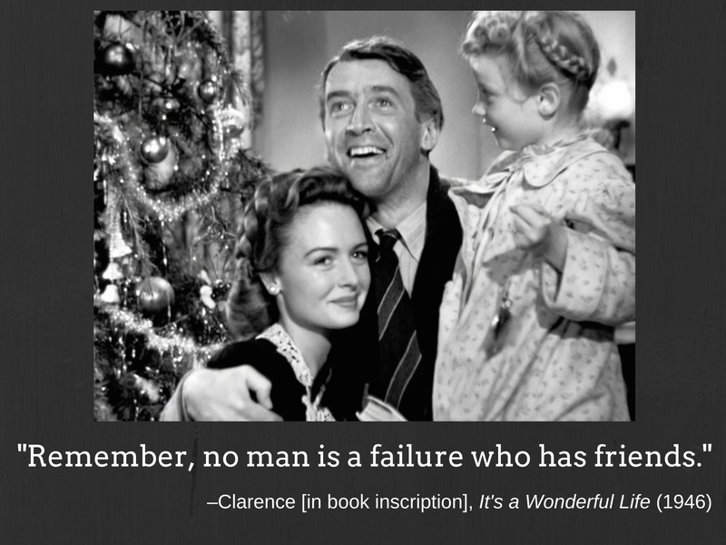 Quote of the day: It's a Wonderful Life (1946)