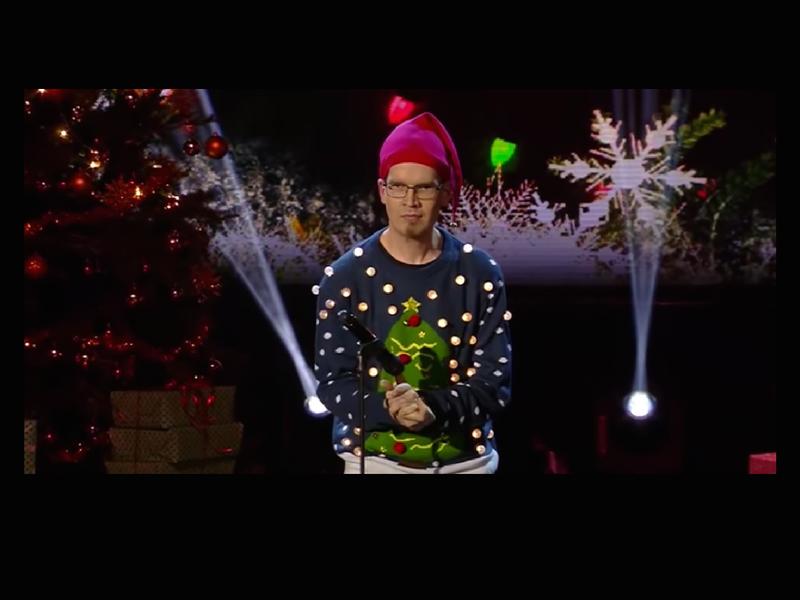 WATCH: Finland's Got Talent winner plays John Lennon in hand-farts