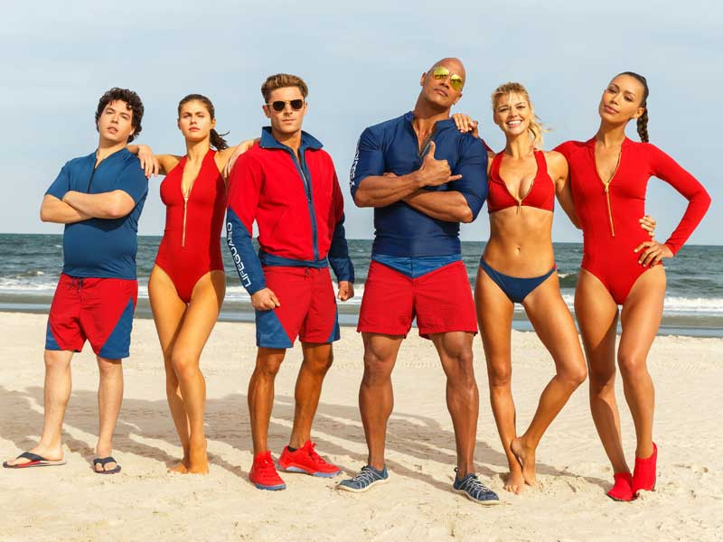 First look at Baywatch reboot