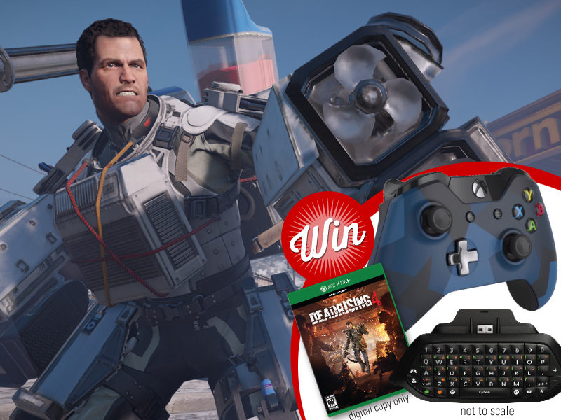 Win an Xbox accessories prize-pack with Dead Rising 4