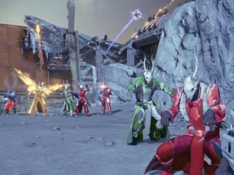 WATCH: Husky Raid takes Destiny to Christmas Town
