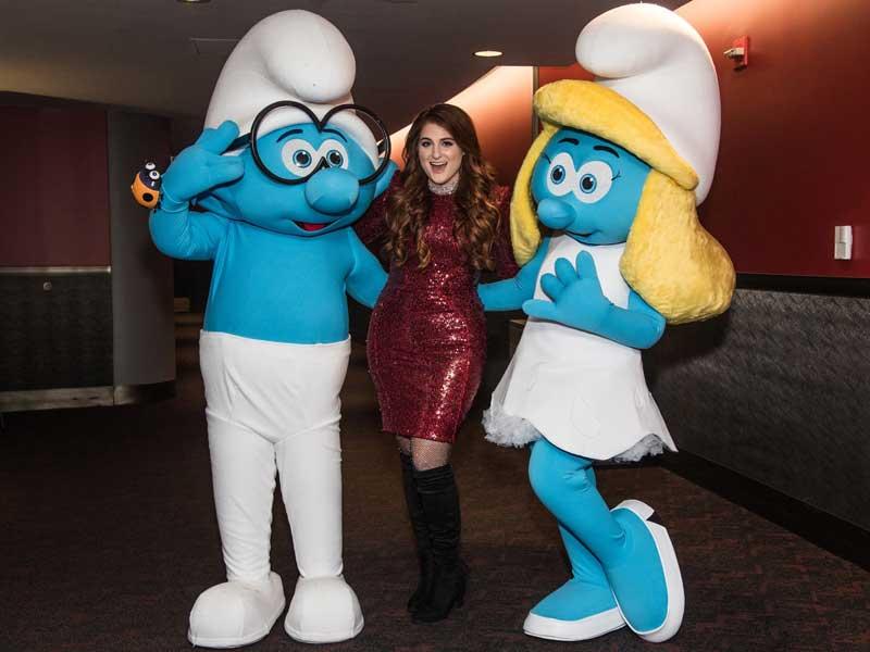 Meghan Trainor loves the Smurfs