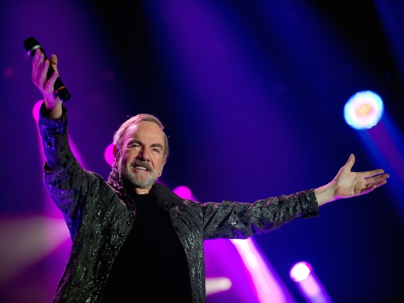 50th anniversary world tour for Neil Diamond