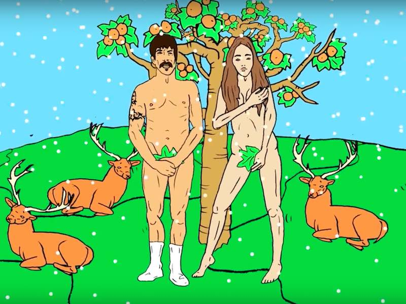 Check out new Red Hot Chili Peppers clip