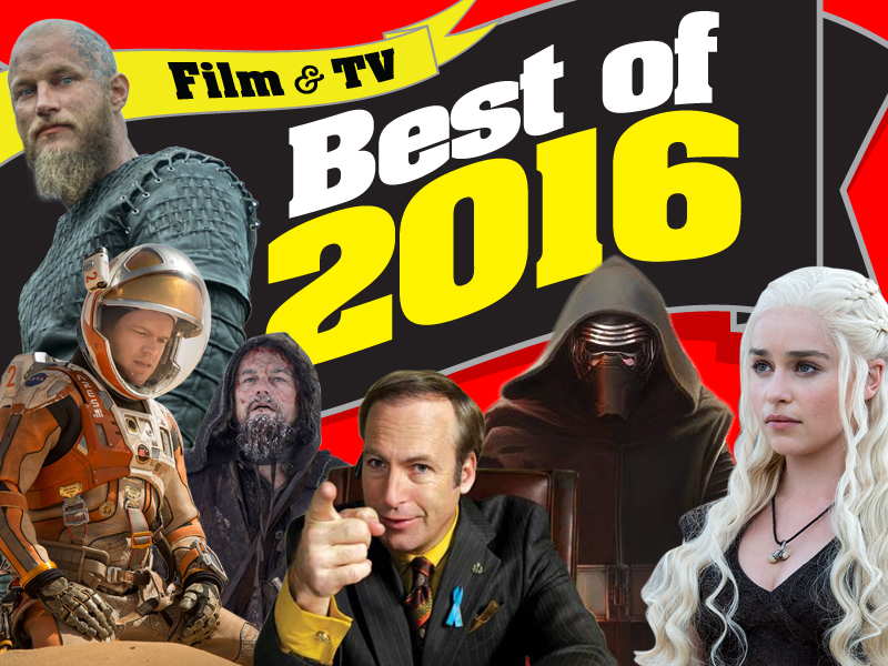 The Best of 2016 in Film & TV on DVD