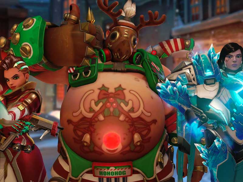 IT'S SNOW BRAWL TIME: Overwatch's Christmas event detailed
