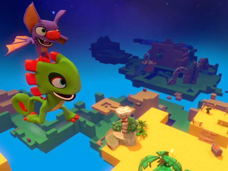 WATCH: here's 13 minutes of Yooka-Laylee