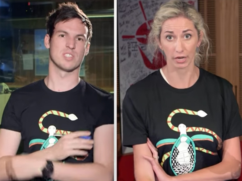 Watch triple j presenters argue over exclusive AIME tees