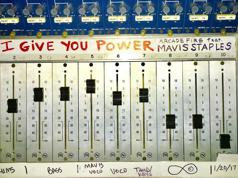 Arcade Fire drop new track with Mavis Staples