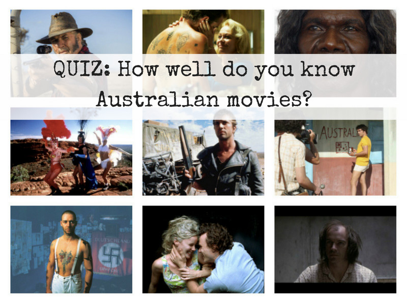 How well do you know Australian movies?