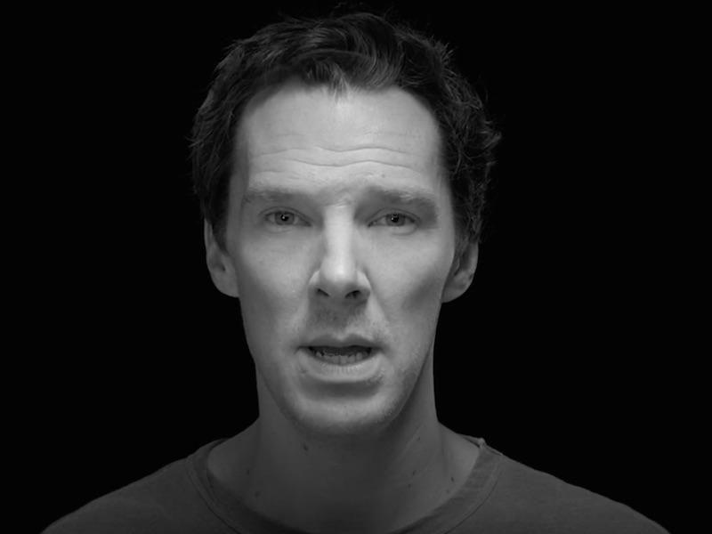 Benedict Cumberbatch in new Elbow music video