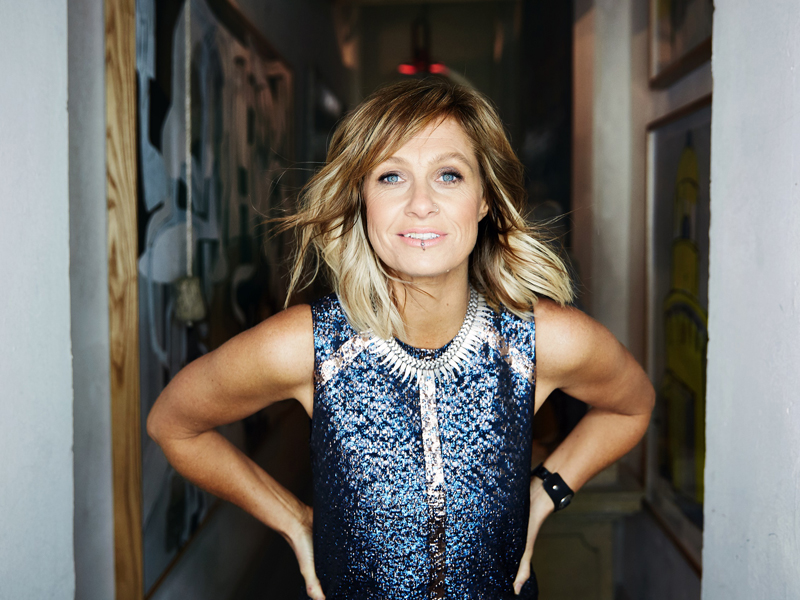 Kasey Chambers signing albums in Brisbane, Tamworth