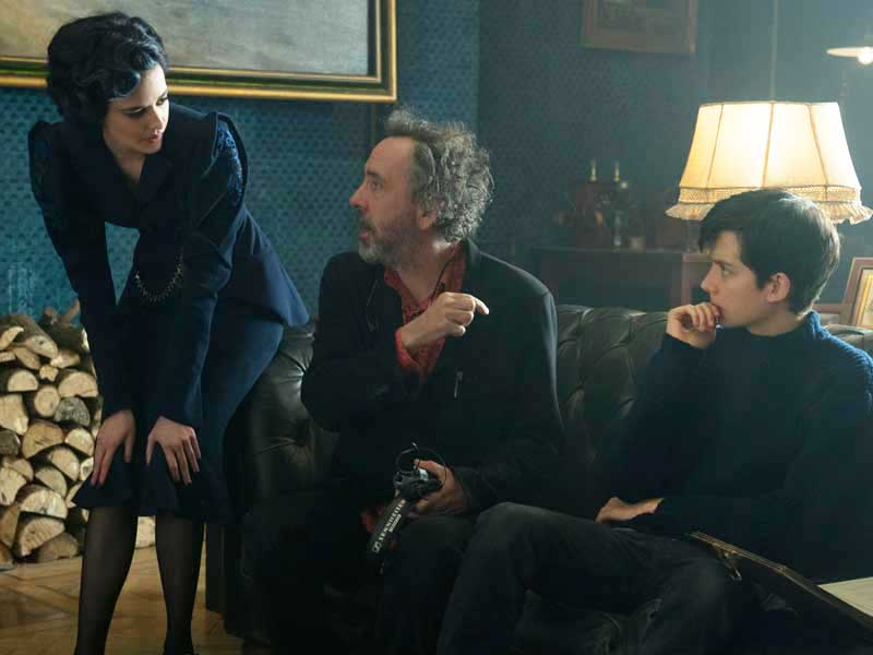Miss Peregrine's Home For Peculiar Children: Tim Burton Q+A
