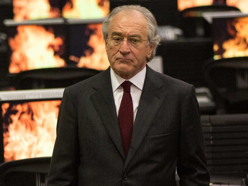 Check out the trailer for new Robert De Niro drama The Wizard Of Lies