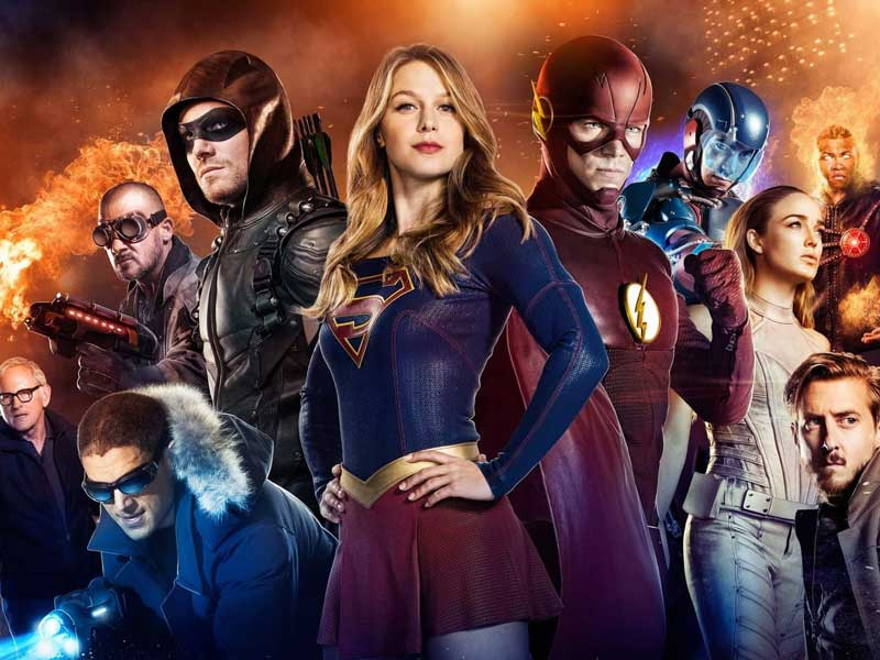 DC superhero shows renewed