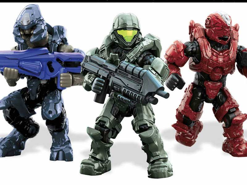 WATCH: sneak a peek at the prototype Mega Bloks Halo game