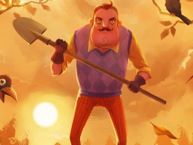 WATCH: this is a Hello Neighbor game theory you have to see