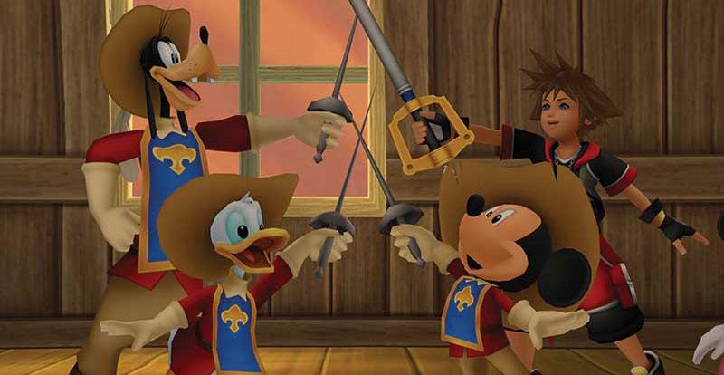 Kingdom Hearts HD 2.8 Final Chapter Prologue previewed