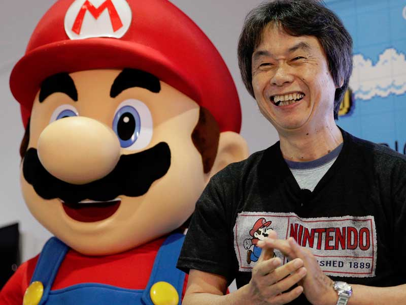 WATCH: Shigeru Miyamoto boasts about his children (video games)