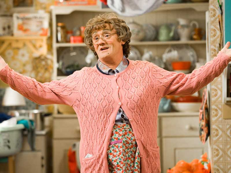 Mrs Brown gets her own chat show