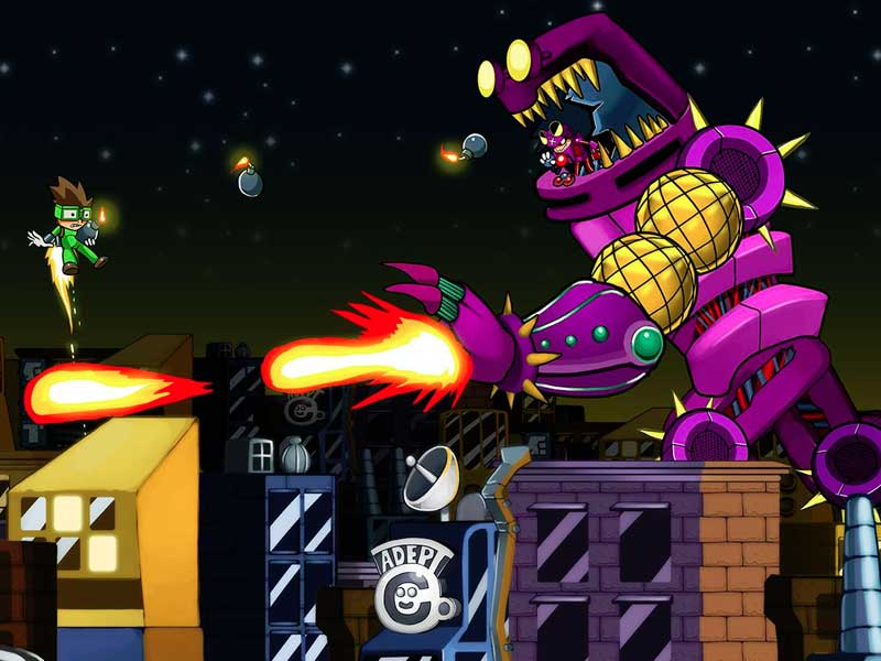 WATCH: become the Boss Fight in Nefarious