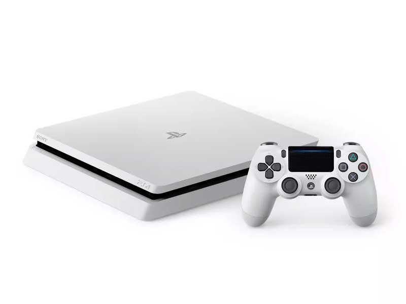 Sony reveals new white PS4
