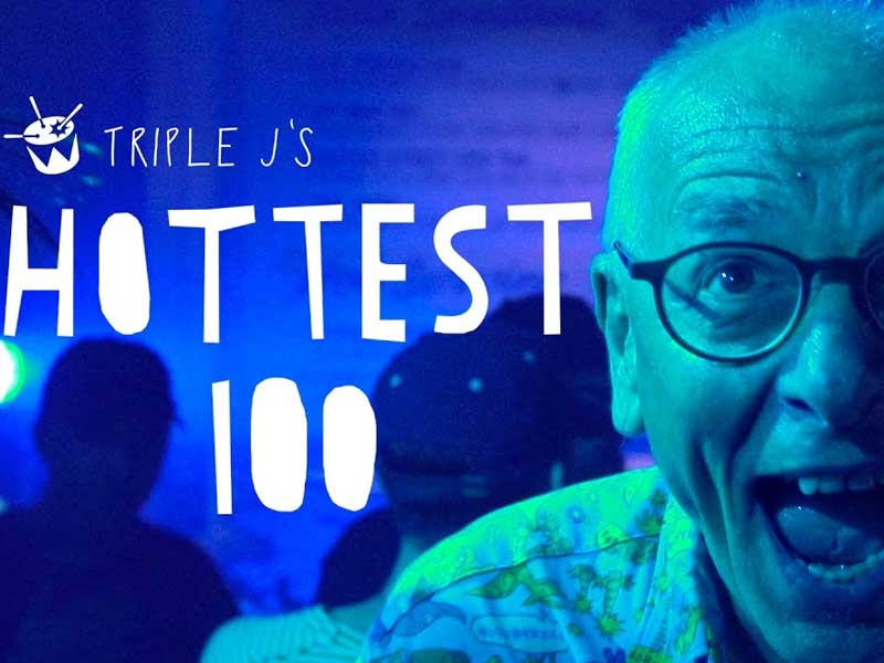 WATCH: go BTS on the triple j Hottest 100 vid