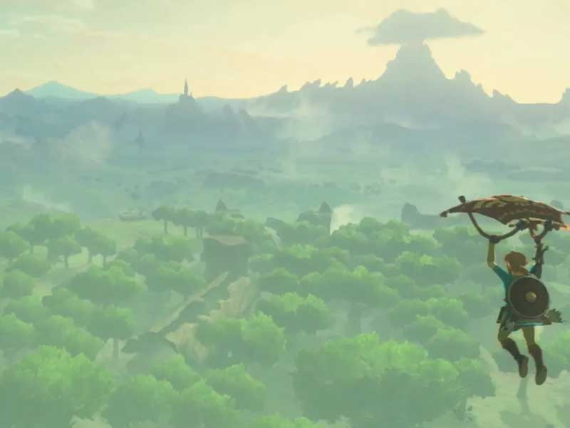 ICYMI: Zelda's latest trailer is predictably beautiful