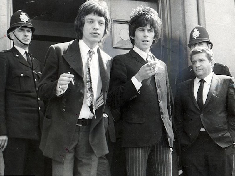 On This Day: The Rolling Stones' first brush with the law