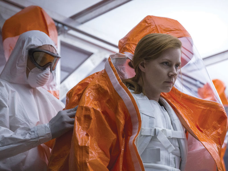 Review: Arrival. Close encounters of the lingual kind.