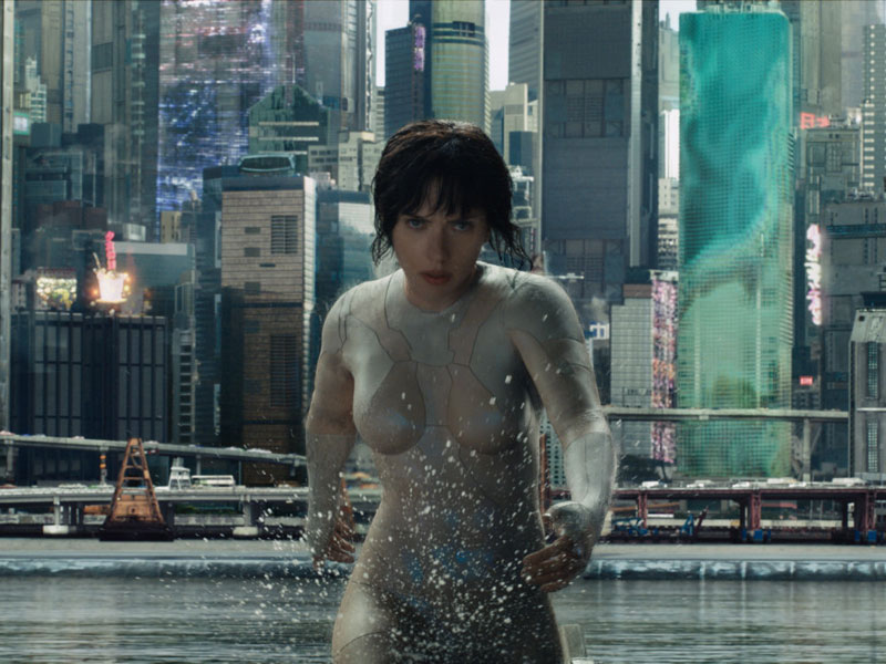 WATCH: Ghost in the Shell – Big Game Spot