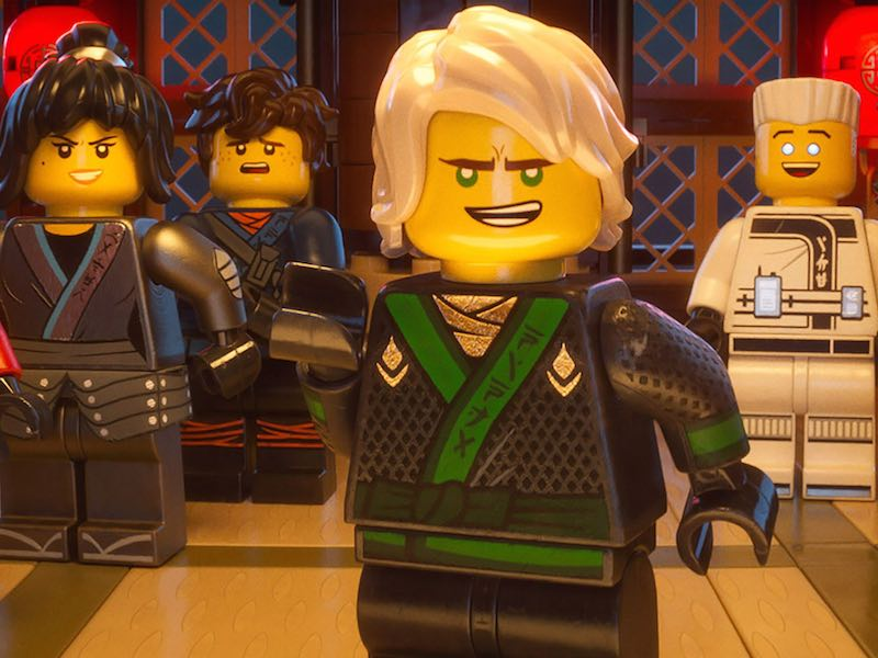Check out first trailer for LEGO Ninjago Movie