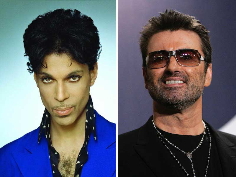 Grammy Awards salute for Prince and George Michael